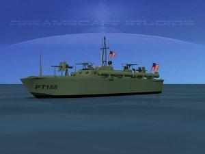 3d max boat pt elco