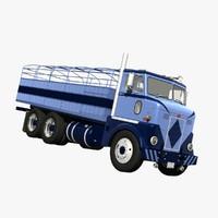 3d model 280 cattle truck