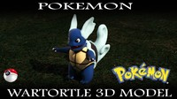 free x mode wartortle pokemon