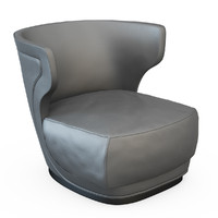 3d armchair etiennee model