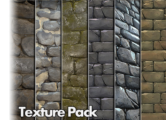 Unity Asset - Stone Wall Texture Pack 01 | Board4All