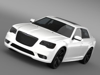 chrysler 300 srt8 2012 3ds