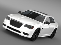 3d chrysler 300 srt8 satin model