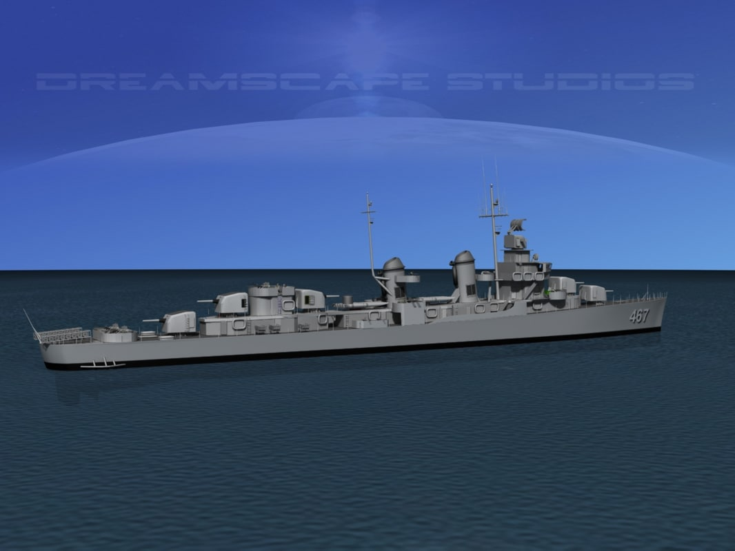 max anti-aircraft fletcher class destroyers
