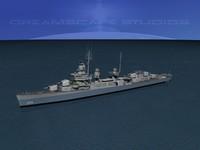 anti-aircraft fletcher class destroyers 3ds