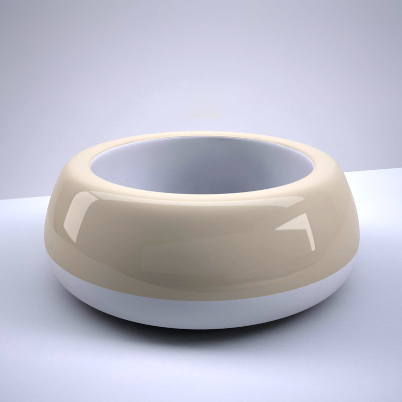 pet dish dog 3d model