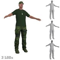 3d soldier 6