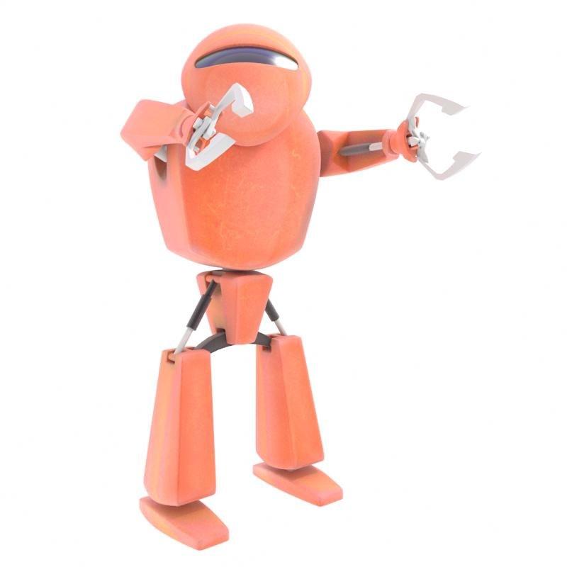 3d model robot character