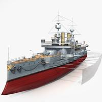 Battleship HMS Triumph
