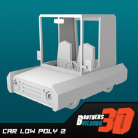 car low poly 2