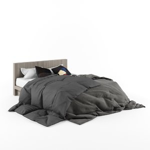 3d d-bed1 model