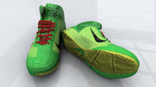 3d model nick lebron shoe