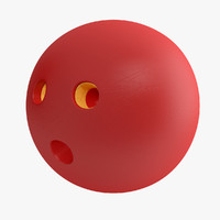 bowling ball 3d model