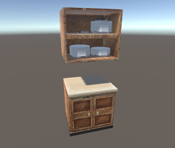 kitchen closer 3d model