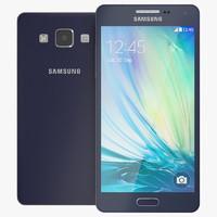 3ds max samsung galaxy a5 blue