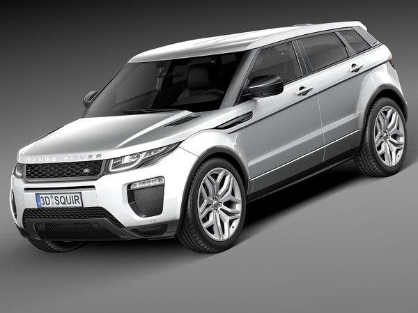3d model 2016 5-door range