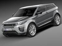 Range Rover Evoque 3-door 2016