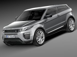 3d 2016 3-door range model