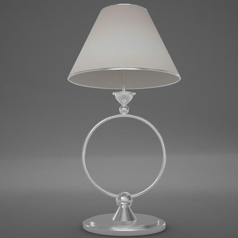 3d lamp scene model