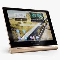 3d model lenovo yoga tablet 10