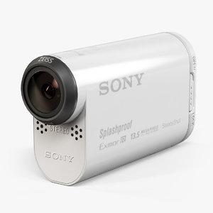 3d model sony hdr-as100v