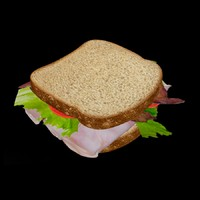 3ds max sandwich bite