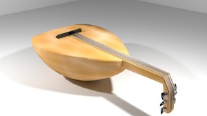 gambus musical instrument 3ds