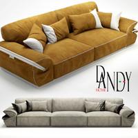 dandy sofa mod 3d max