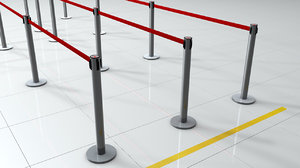 c4d barrier pole