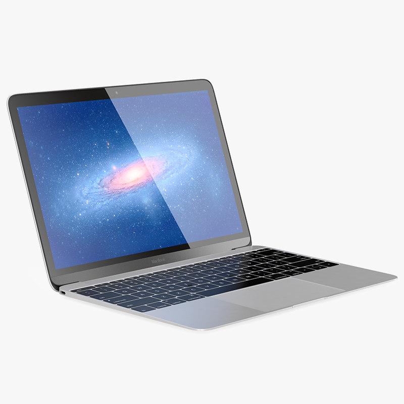 apple macbook 2015 3d max