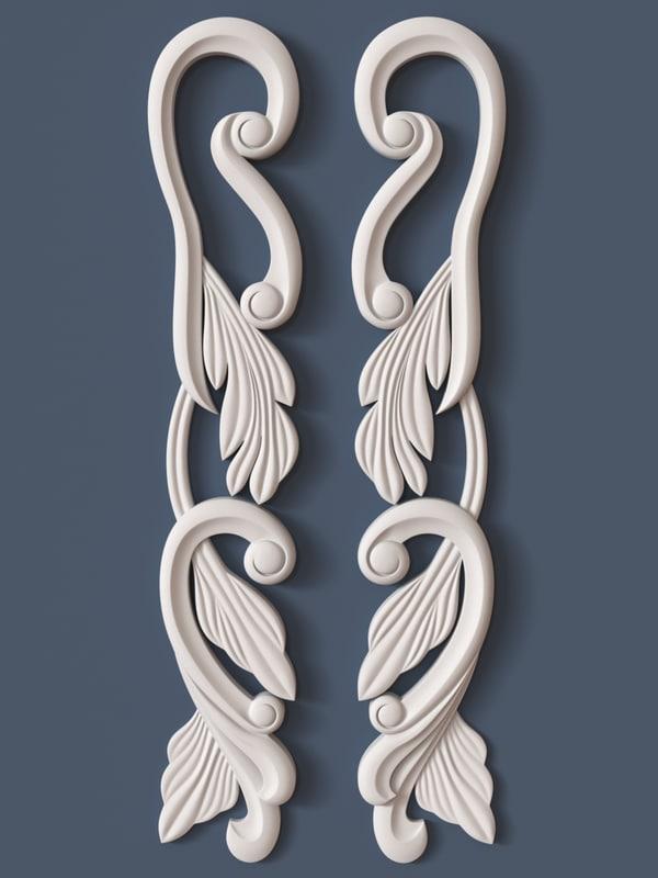 max decorative scroll