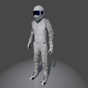 gear stig 3d model