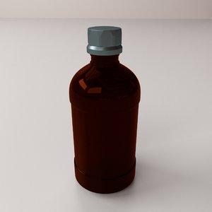 winchester bottle 3d 3ds