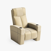 3ds max ferrier incliner theatre seating