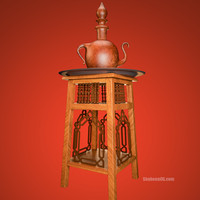arabic chair 3d 3ds