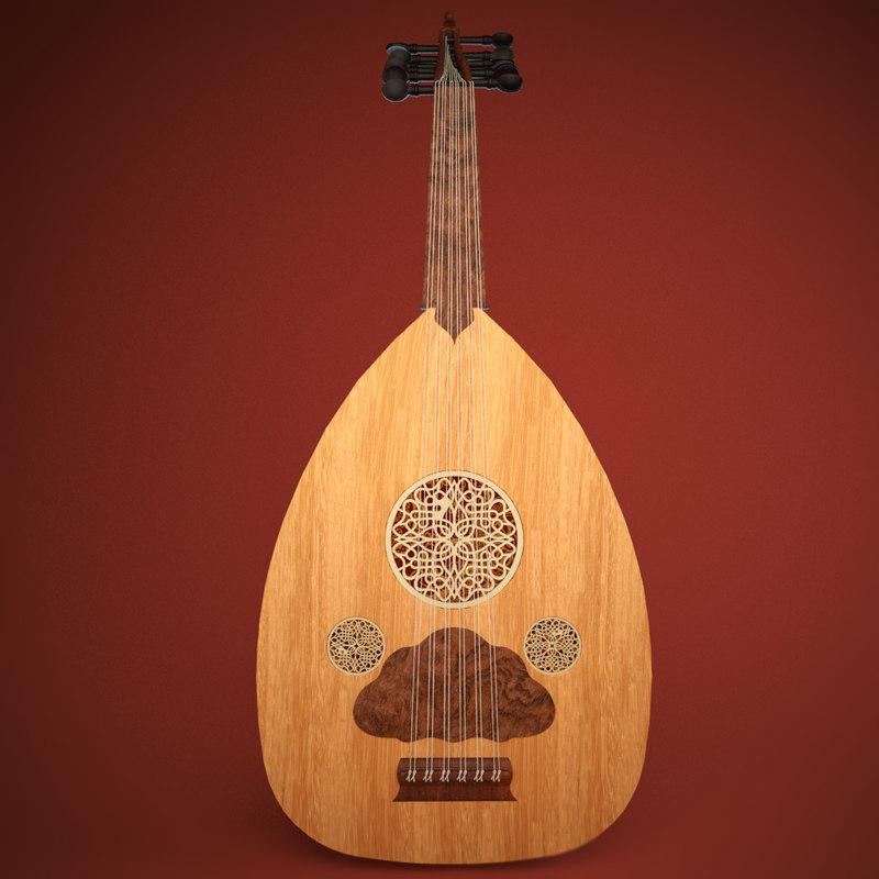 oud arabic instrument 3ds