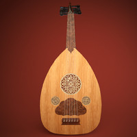 oud arabic instrument 3ds