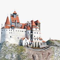 dracula castle bran c4d
