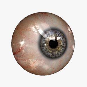 3dsmax realistic human eye 20
