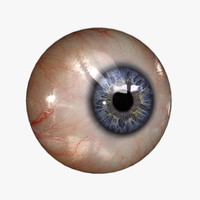 Eyeball (20 colors) Rendering \ Real-time KA-Set 01 bl