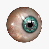 Eyeball (20 colors) Rendering \ Realtime KA-Set 01 sw