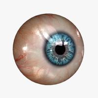 3d model realistic human eye 20