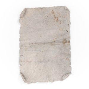 old paper 3d max