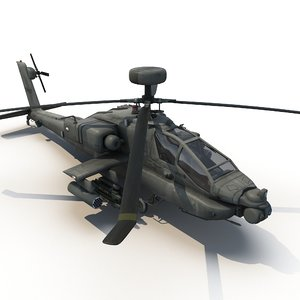 3ds apache attack helicopter