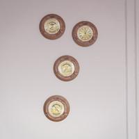 porthole ottone legno 3d model