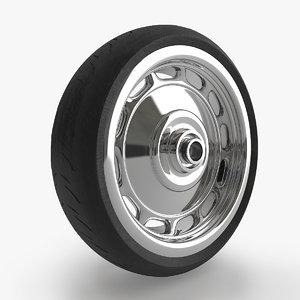 3d wheel tyre moto bike