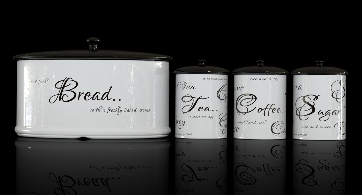 kitchen canisters bread max