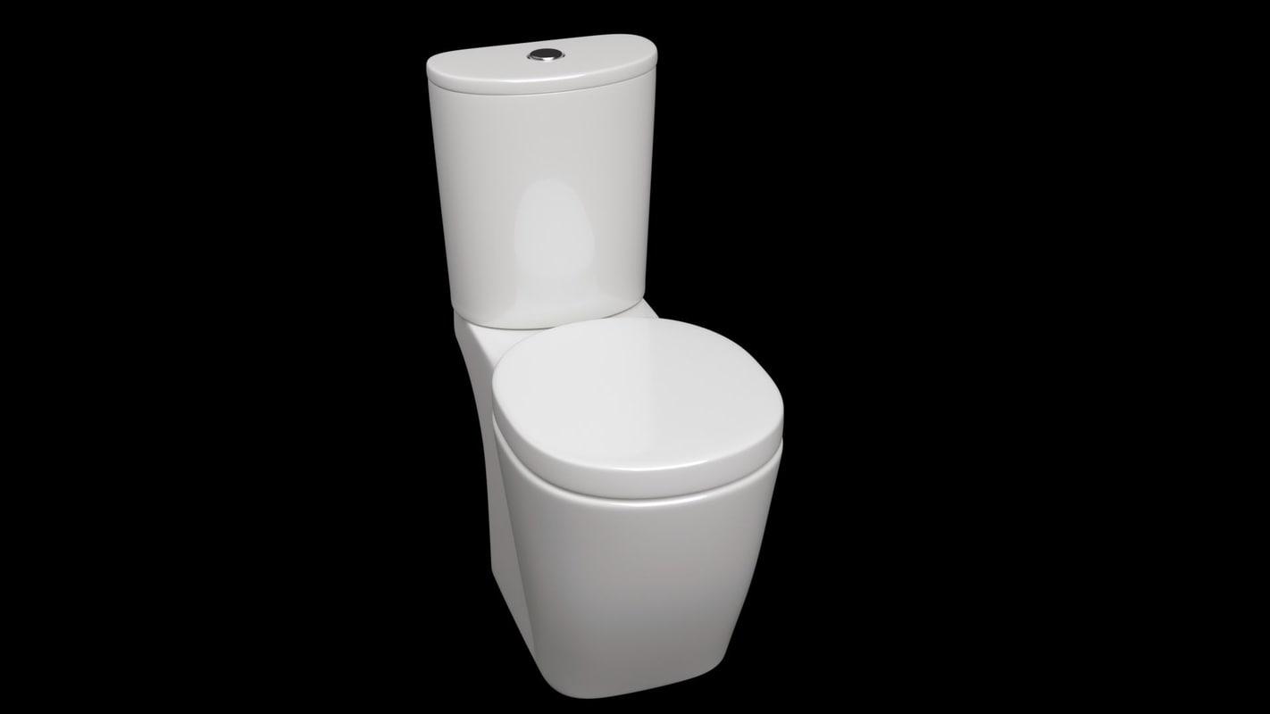 toilet obj