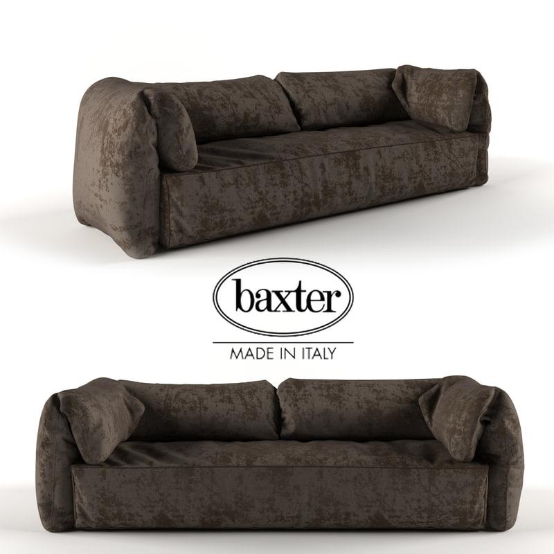 3d max modern casablanca sofa