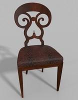 max antique biedermeier chair